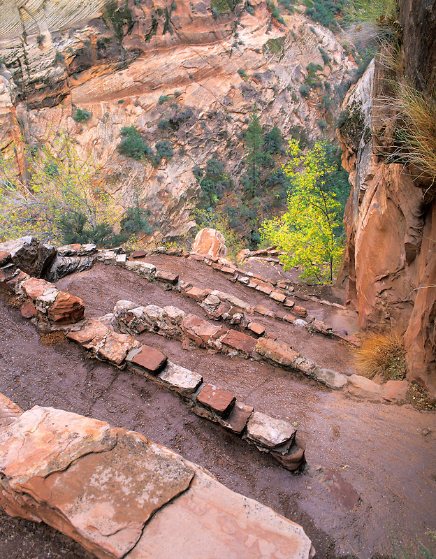 Trail (Walter's Wiggles) in Zion National Park, Utah