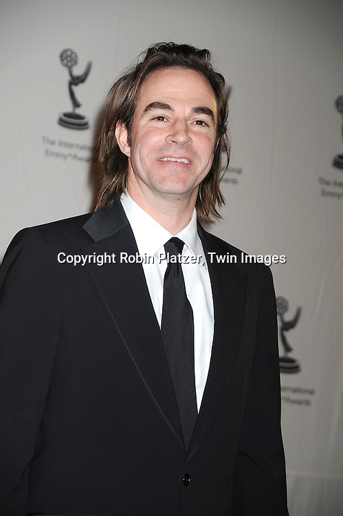 Roger Bart..posing for photographers at The 36th Annual International Emmy Awards on November 24, 2008 at The New York Hilton Hotel. ....Robin Platzer, Twin Images