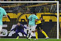 Matias Vecino 8, Inter Milan makes the goal of 0 2 nordphoto/Mauelshagen nph00321<br /> Dortmund 5-11-2019 BVB Stadion <br /> Football Uefa Champions League 2019/2020 Group F Borussia Dortmund - FC Internazionale <br /> Photo Imago/Insidefoto