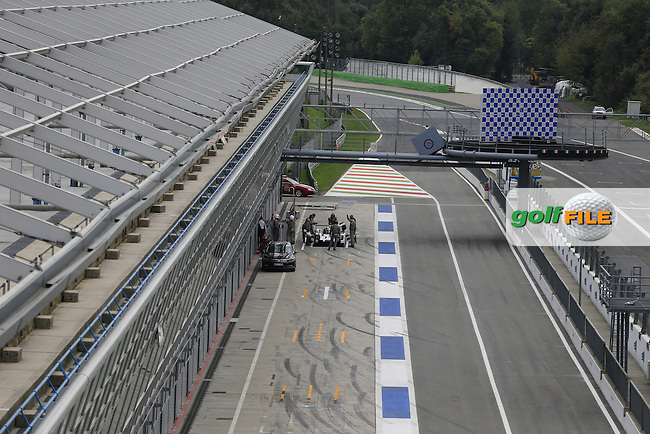 Monza Autodrome during the 72nd Italian Open held in the Royal Park, Monza, Italy. 17-20th September 2015.<br /> Picture Eoin Clarke   Golffile