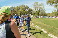 Rory McIlroy (NIR) departs the 10th tee during round 1 of the World Golf Championships, Dell Match Play, Austin Country Club, Austin, Texas. 3/21/2018.<br /> Picture: Golffile | Ken Murray<br /> <br /> <br /> All photo usage must carry mandatory copyright credit (&copy; Golffile | Ken Murray)