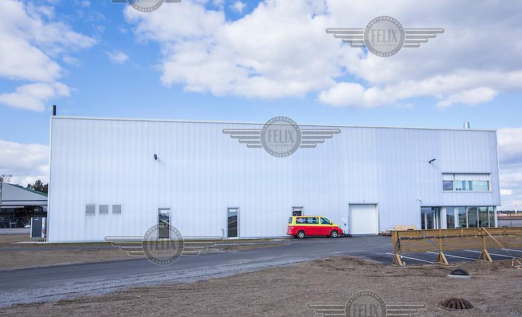 Norwegian Air Ambulance maintenance HQ at Gardermoen