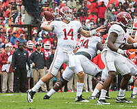 Georgia Bulldogs vs Alabama Crimson Tide, October 3, 2015