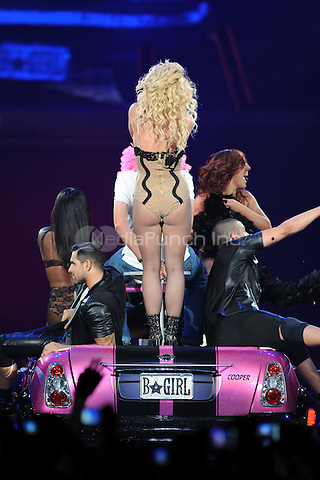 CLEVELAND, OH - JULY 26 : Britney Spears performs on the Femme Fatale tour at the Quicken Loans Arena on July 26, 2011 in Cleveland Ohio. © MediaPunch Inc..