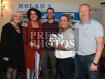 At the Jack & Jill fundraiser held in Nolans was Mary O'Neill Cunningham Organiser, Anita Cunningham and her husband Bruno Lanvin, Anne Reilly a Jack and Jill Foundation nurse and Paul Nolan Nolan's Bar. Photo:Colin Bell/pressphotos.ie