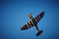 Supermarine Spitfire Mk9 Flying