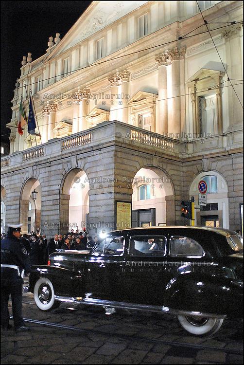 Italia. Milano, Teatro La Scala..Italy. Milan, La Scala teahtre.