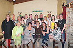 50TH: On Saturday night at The Greyhound Bar, Tralee, Hannah Breen celebrated her 50th Birthday with family and friends. Front l-r: Ita O'Sullivan, Elizabeth O'Connor, Hannah Breen (birthday girl), Mary Looney and Nicola Mullins. Back l-r: Mary Donovan, Noreen Locke, Mary Raymond, Linda Looney, Coray Buckley, Kenneth and Kyle Cronin, Thomas Breen, Sharon Breen, Donie O'Connell, Jeanette Donnelly, Cornelius Looney and James Breen..