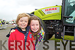 Ciaran and Caoimhe O'Connell from Ballygologue, Listowel at the Kingdom County Fair at Ballybeggan on Sunday.