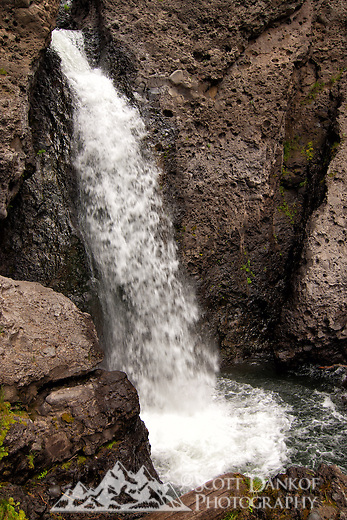 Located in the San Juan National Forest near Pagosa Springs, Colorado at an elevation of 8340ft lies Piedra Falls.