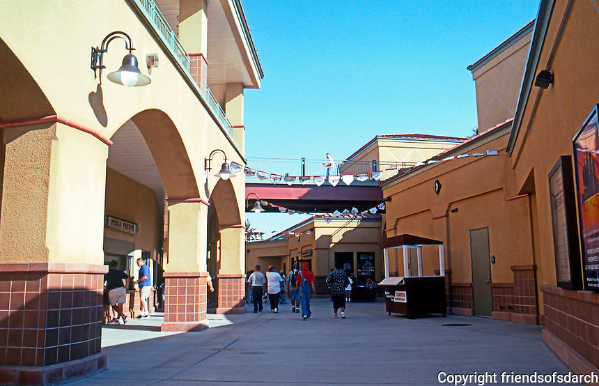 """Ballparks: San Bernardino """"The Ranch"""". View of interior, entrance to seats. Restrooms to left and concessions to right."""