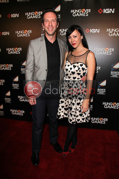Ben Begley, Renee Dorian<br /> at &quot;The Hungover Games&quot; Premiere, TCL Chinese 6, Hollywood, CA 02-11-14<br /> David Edwards/Dailyceleb.com 818-249-4998