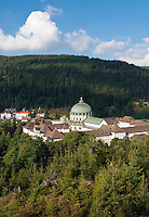 Germany, Baden-Wuerttemberg, Black Forest, St. Blasien: town at Alb Valley with Monastery St. Blasien and Cathedral St. Blasius, early classicism style