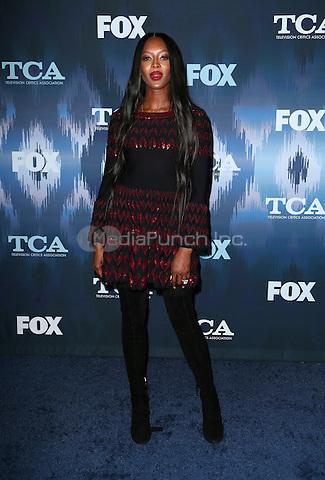Pasadena, CA - JANUARY 11: Naomi Campbell, At 2017 Winter TCA Tour - FOX All-Star Party, At Langham Hotel In California on January 11, 2017. Credit: Faye Sadou/MediaPunch