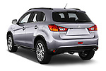 Car pictures of rear three quarter view of 2015 Mitsubishi ASX Diamond Edition 5 Door SUV Angular Rear