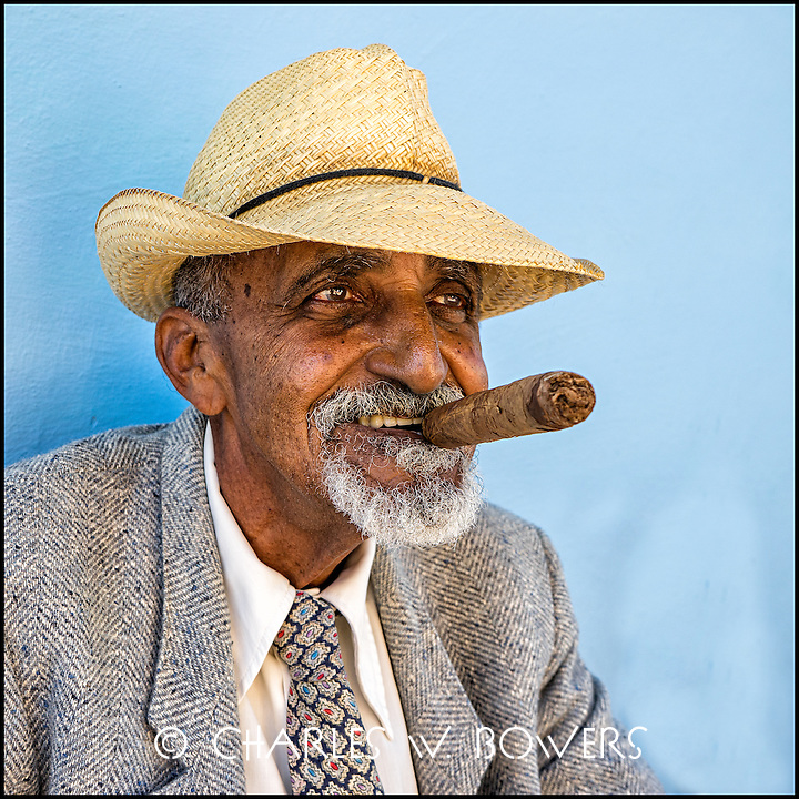 Dressed up for the 500 year anniversary of Trinidad, Cuba<br />