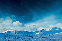 The Blackmount (Creise and Meall a' Bhuiridh) from Rannoch Moor, Argyll & Bute
