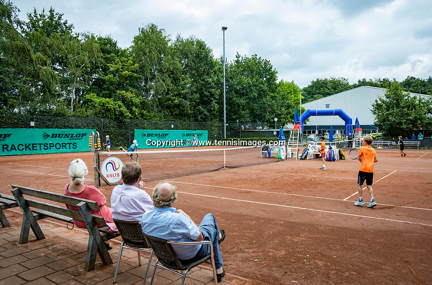 Hilversum, Netherlands, Juli 31, 2019, Tulip Tennis center, National Junior Tennis Championships 12 and 14 years, NJK, Doubles:<br /> Photo: Tennisimages/Henk Koster