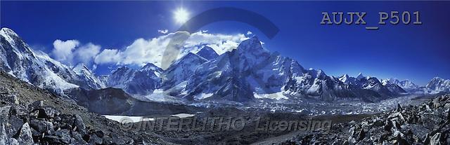 Dr. Xiong, LANDSCAPES, panoramic, photos, Everest View, Kala Patter, Nepal(AUJXP501,#L#)