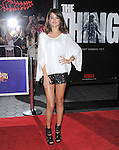 Selena Gomez at The Universal Pictures' Premiere of THE THING held at Universal City Walk in Universal City, California on October 10,2011                                                                               © 2011 Hollywood Press Agency