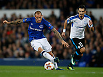 Sandro Ramirez of Everton during the Europa League Group E match at Goodison Park Stadium, Liverpool. Picture date: September 28th 2017. Picture credit should read: Simon Bellis/Sportimage