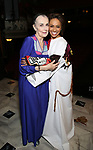 Mary Beth Peil and Shina Ann Morris attends Actors' Equity Broadway Opening Night Gypsy Robe Ceremony honoring Shina Ann Morris for  'Anastasia' at the Broadhurst Theatre on April 24, 2017 in New York City.