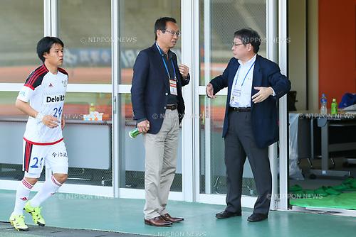 Takeshi Okada (FC Imabari), <br /> APRIL 16, 2017 - Football / Soccer : <br /> Japan Football League (JFL) 2017 1st Stage <br /> between Briobecca Urayasu 0-2 FC Imabari <br /> at Kashiwanoha Stadium, Chiba, Japan. <br /> (Photo by YUTAKA/AFLO SPORT)