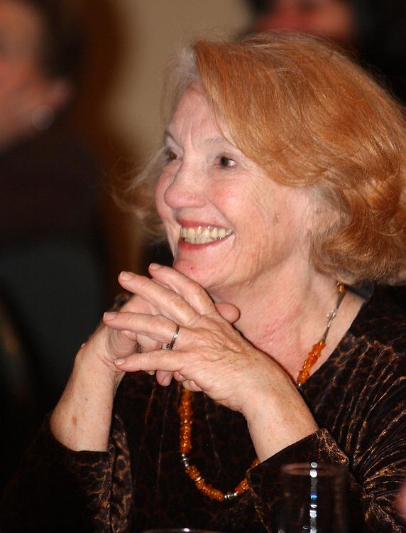 Billie Sanborne at retirement party for Harvey Aronson at the Huntington Hilton in Melville on Thursday January 20, 2005. (Photo copyright Jim Peppler 2005).