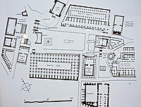 Plan of the Imperial Forum, Rome, Italy