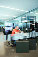 Operations Center South of the Swiss Federal Railways in Pollegio