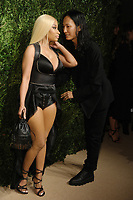 NEW YORK, NY - NOVEMBER 6: Nicki Minaj and Alexander Wang at the 14th Annual CFDA Vogue Fashion Fund Gala at Weylin in Brooklyn, New York City on November 6, 2017. <br /> CAP/MPI/JP<br /> &copy;JP/MPI/Capital Pictures