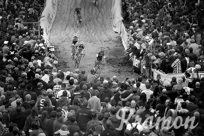"""down in """"The Pit""""<br /> <br /> GP Zonhoven 2014"""