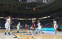 Quinnipiac defeats Rider 81-73 in the championship game of the MAAC tournament on March 06, 2017 at the Times Union Center in Albany, New York.  (Bob Mayberger/Eclipse Sportswire)