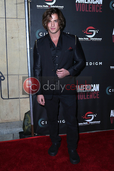 "Bryant Wood<br /> at the ""American Violence"" World Premiere, Egyptian Theater, Hollywood, CA 01-25-17<br /> David Edwards/DailyCeleb.com 818-249-4998"