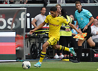 Achraf Hakimi (Borussia Dortmund) - 22.09.2019: Eintracht Frankfurt vs. Borussia Dortmund, Commerzbank Arena, 5. Spieltag<br /> DISCLAIMER: DFL regulations prohibit any use of photographs as image sequences and/or quasi-video.