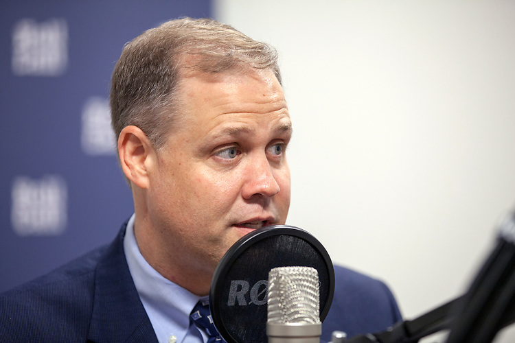 UNITED STATES - June 28: NASA administrator Jim Bridenstine is interviewed for CQ on Congress podcast at the CQ Roll Call office in Washington, DC, June 28, 2018. (Photo by Thomas McKinless/CQ Roll Call).
