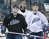 Maine ?, Ben Bishop, Maine ? - The University of Maine Black Bears practiced on Wednesday, April 5, 2006, at the Bradley Center in Milwaukee, Wisconsin, in preparation for their April 6 2006 Frozen Four Semi-Final game versus the University of Wisconsin.