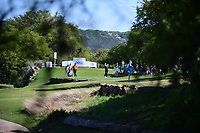 Shane Lowry (IRL) watches his tee shot on 11 during round 2 of the World Golf Championships, Dell Technologies Match Play, Austin Country Club, Austin, Texas, USA. 3/23/2017.<br /> Picture: Golffile | Ken Murray<br /> <br /> <br /> All photo usage must carry mandatory copyright credit (&copy; Golffile | Ken Murray)