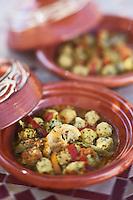Afrique/Afrique du Nord/Maroc/Essaouira: Riad: Villa Garance - Boulettes de poisson (merlan) à l'huile d'argan de la cuisinière du riad