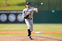 Starting pitcher Jacob Pettit #29 of the Delmarva Shorebirds in action against the Kannapolis Intimidators at Fieldcrest Cannon Stadium on May 22, 2011 in Kannapolis, North Carolina.   Photo by Brian Westerholt / Four Seam Images