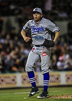 Alberto Leyva pitcher relevo de Yaquis, durante la apertura de la temporada de beisbol de la Liga Mexicana del Pacifico 2017 2018 con el partido entre Naranjeros vs Yaquis. 11 octubre2017 . <br /> (Foto: Luis Gutierrez /NortePhoto.com)