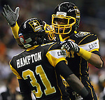 East's Victor Hampton, left and Keenan Allen celebrate a play during the U.S. Army All-American Bowl, Saturday, Jan. 9, 2010, at the Alamodome in San Antonio. (Darren Abate/pressphotointl.com)