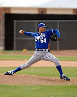 Ryan Acosta - Kansas City Royals - 2009 spring training.Photo by:  Bill Mitchell/Four Seam Images