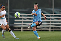 Piscataway, NJ - Saturday June 11, 2016: Christie Rampone during a regular season National Women's Soccer League (NWSL) match between Sky Blue FC and FC Kansas City at Yurcak Field.