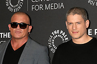 "Dominic Purcel, Wentworth Miller<br /> at the ""Prison Break"" 2017 PaleyLive LA Spring Season, Paley Center for Media, Beverly Hills, CA 03-29-17<br /> David Edwards/DailyCeleb.com 818-249-4998"