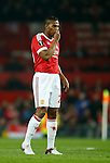 Antonio Valencia of Manchester United dejected during the UEFA Europa League match at Old Trafford. Photo credit should read: Philip Oldham/Sportimage