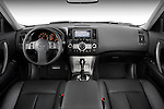 Straight dashboard view of a 2008 Infiniti FX35 SUV