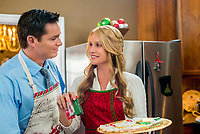 The Christmas Spirit (2013)<br /> Bart Johnson &amp; Nicollette Sheridan<br /> *Filmstill - Editorial Use Only*<br /> CAP/KFS<br /> Image supplied by Capital Pictures
