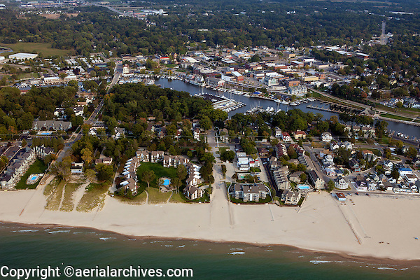 aerial photograph South Haven, Michigan