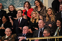 FEBRUARY 5, 2019 - WASHINGTON, DC: Jared Kushner, Ivanka Trump, Lara Trump, and Eric Trump during the State of the Union address at the Capitol in Washington, DC on February 5, 2019. <br /> CAP/MPI/RS<br /> ©RS/MPI/Capital Pictures